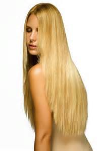Long blonde hair extensions in Henderson