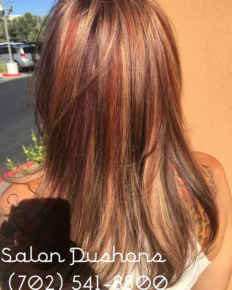 Recent work from Salon Dushons in Henderson
